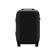 "Чемодан Xiaomi 90 Points Smart Fingerprint Lock Suitcase 20"" (Black)"