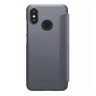 Чехол книжка NILLKIN Sparkle leather case для Xiaomi Mi8 Lite (Gray)