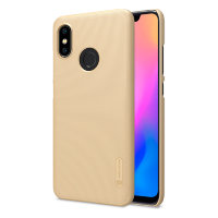 Чехол бампер NILLKIN Super Frosted Shield для Xiaomi Mi8 (Gold)