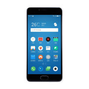 Чехол бампер NILLKIN Super Frosted Shield для Meizu M5 (white)