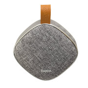 Портативная колонка Hoco BS9 Light textile desktop wireless Gray