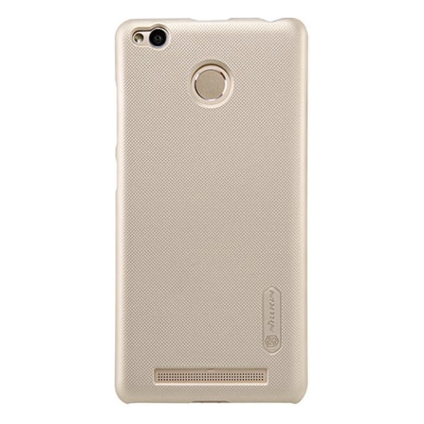 Чехол бампер NILLKIN Super Frosted Shield для Xiaomi Redmi 3x (Gold)