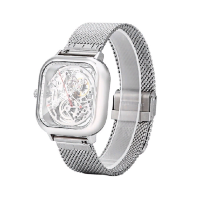 Часы Xiaomi CIGA Design Anti-Seismic Mechanical Watch Wristwatch (Silver)