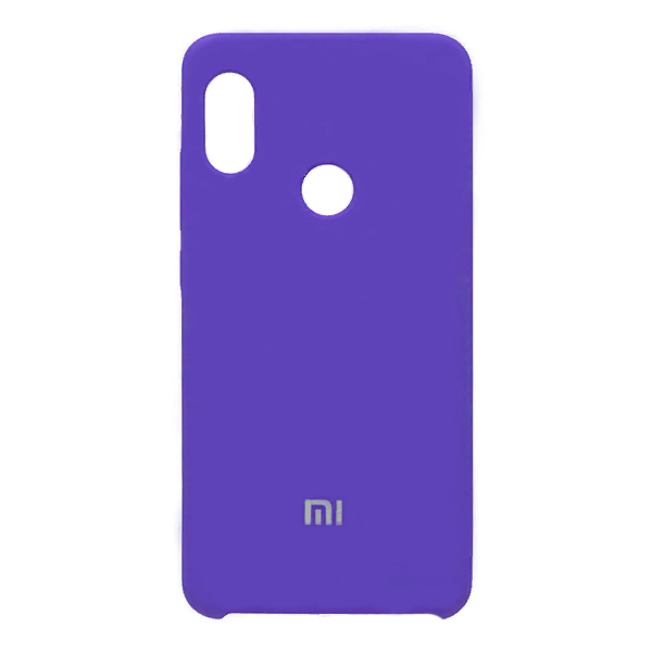 Купить Силиконовый чехол Silky and Soft-Touch Xiaomi Redmi Note 7 (Blue-Purple)