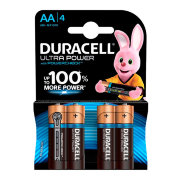 Батарейка Duracell LR6 (AA) BL4 Ultra Power (4шт.)