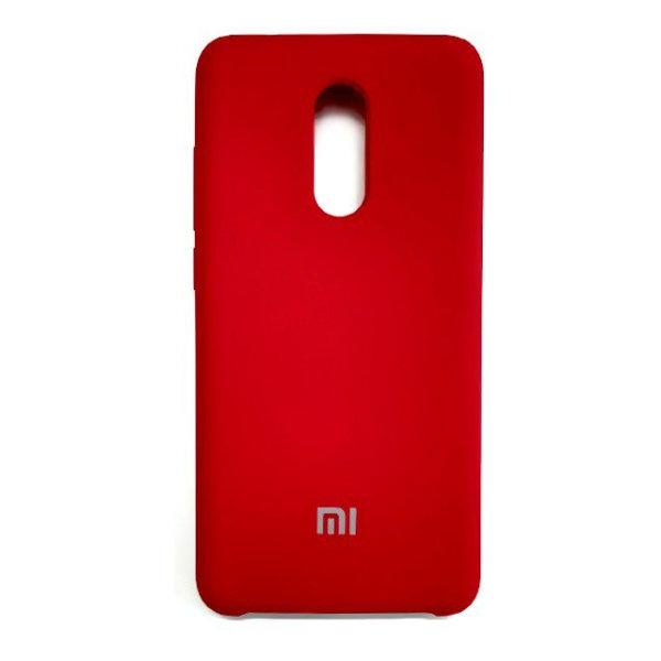 Силиконовый чехол Silky and Soft-Touch Xiaomi Redmi 5 Plus (Red)