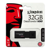 Флеш-накопитель Kingston 32GB USB 3.0 Data Traveler (DT100-G3)