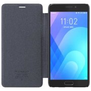 Чехол книжка NILLKIN Sparkle leather case для Meizu M6 Note (Gray)