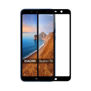 Защитное стекло 9H Full Glue Xiaomi Redmi 7A Black