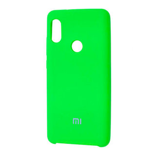 Силиконовый чехол Silky and Soft-Touch Xiaomi Redmi Note 5 (Green)