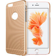 Чехол бампер NILLKIN Super Frosted Shield для Apple iPhone 6 (Gold)