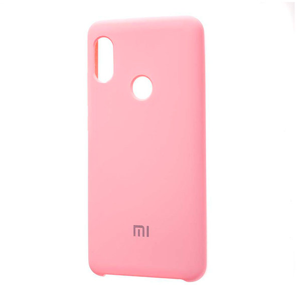 Силиконовый чехол Silky and Soft-Touch Xiaomi Redmi Note 5 (Pink)