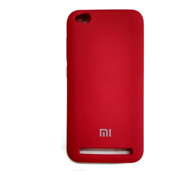 Силиконовый чехол Silky and Soft-Touch Xiaomi Redmi 5A (Red)