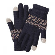 Перчатки Xiaomi Touchscreen Winter Wool Gloves (Синий)