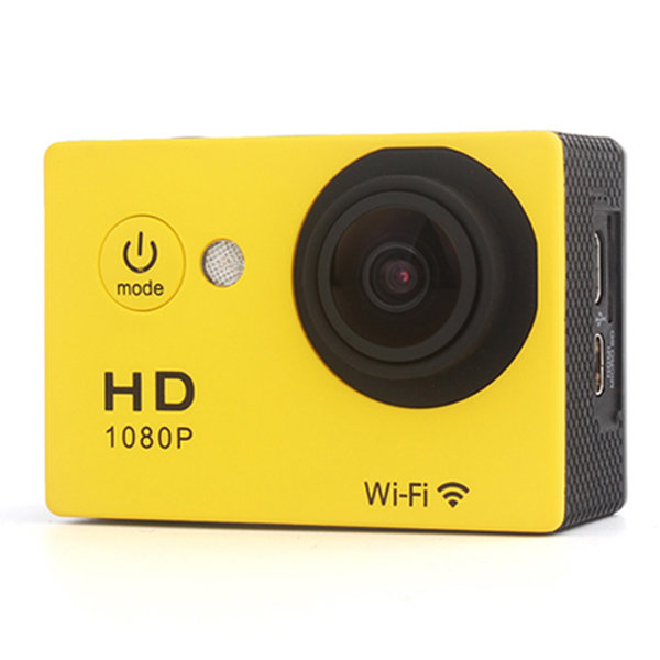 Экшн камера Sport Cam HD 1080P WiFi (Yellow)