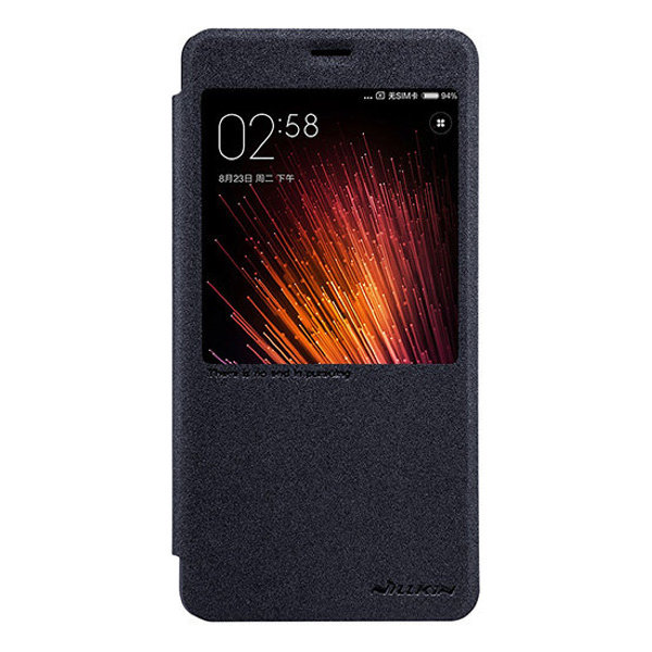 Чехол книжка NILLKIN Sparkle leather case для Xiaomi Redmi Pro (Grey)
