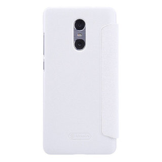 Чехол книжка NILLKIN Sparkle leather case для Xiaomi Redmi Pro (White)