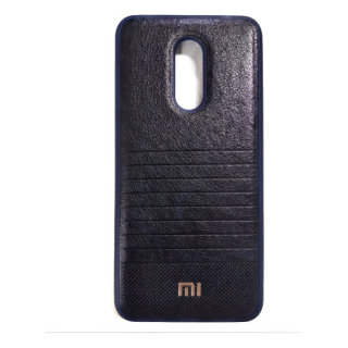 Чехол бампер Mi Leather Xiaomi Redmi 5 (Dark Blue)