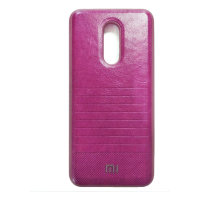 Чехол бампер Mi Leather Xiaomi Redmi 5 (Pink)