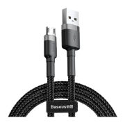Кабель Baseus cafule Cable USB For iP 2A 3m Gray+Black CAMKLF-HG1