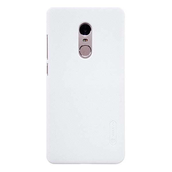 Чехол бампер NILLKIN Super Frosted Shield для Xiaomi Redmi Note 4 (white)