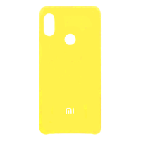 Силиконовый чехол Silky and Soft-Touch Xiaomi Redmi Note 5 (Yellow)