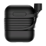 Чехол Baseus Silicone для Case for AirPods Black/Черный (TZARGS-01)