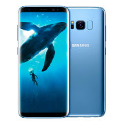 Смартфон Samsung Galaxy S8+ 64GB Coral Blue/Голубой (SM-G9550)