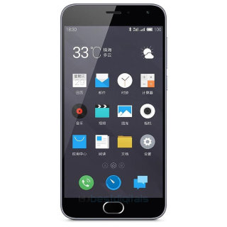 Смартфон Meizu M2 Note 16Gb Grey (M571H) (grey)