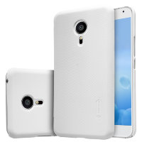 Чехол бампер NILLKIN Super Frosted Shield для Meizu MX5 (White)