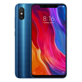 Смартфон Xiaomi Mi8 6/64Gb Blue/Голубой EU (Global Version)