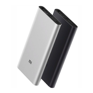 Внешний аккумулятор Xiaomi Mi Power Bank 3 10000 mAh Type-C Silver (PLM12ZM)