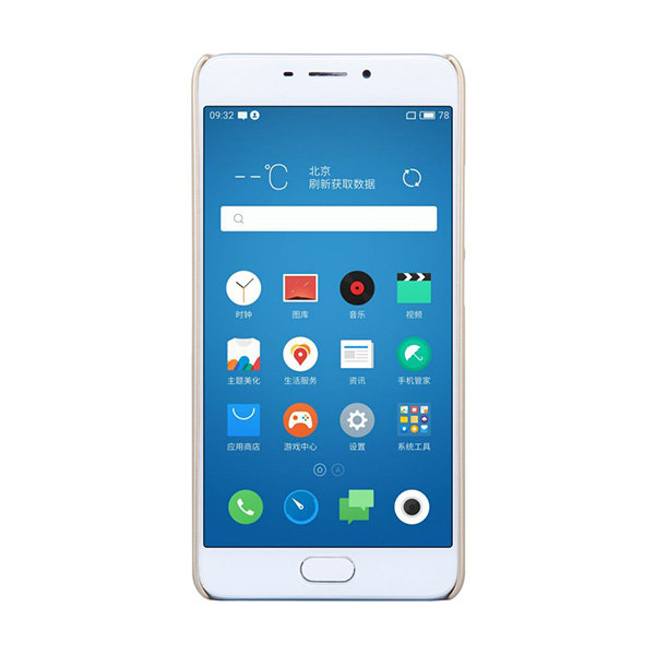 Чехол бампер NILLKIN Super Frosted Shield для Meizu M5 Note (Gold)