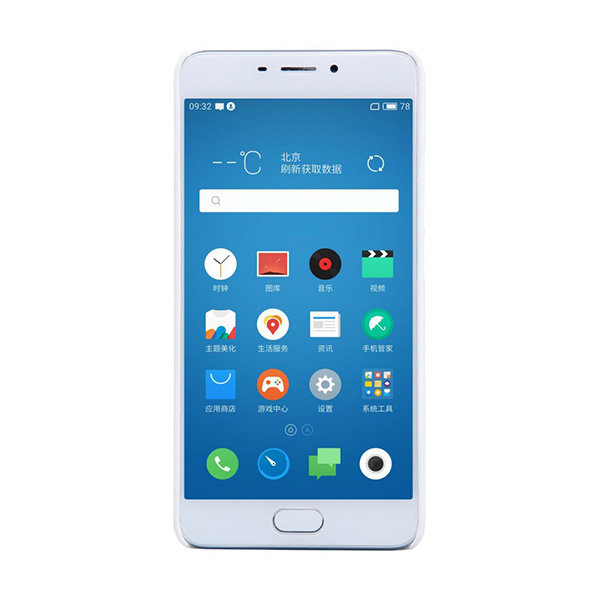 Чехол бампер NILLKIN Super Frosted Shield для Meizu M5 Note (white)