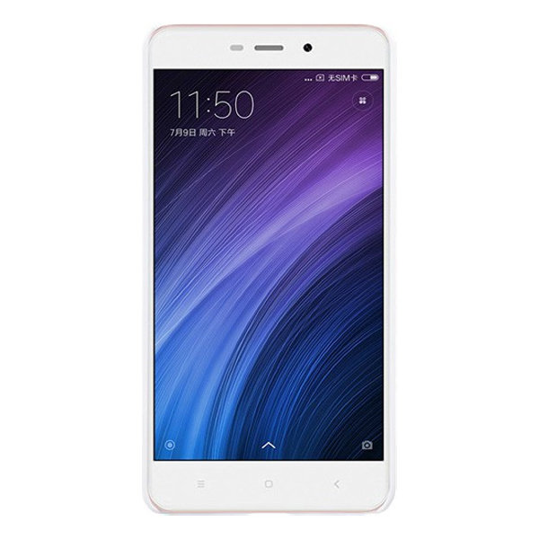 Чехол бампер NILLKIN Super Frosted Shield для Xiaomi Redmi 4a (White)