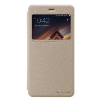 Чехол книжка NILLKIN Sparkle leather case для Xiaomi Redmi 4a (Gold)