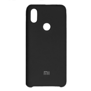 Силиконовый чехол Silky and Soft-Touch Xiaomi Redmi 6 Pro / Mi A2 Lite (Black \ Dark Gray)