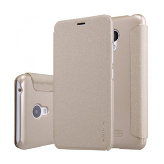 Чехол книжка NILLKIN Sparkle leather case для Meizu M3 Mini (Gold)