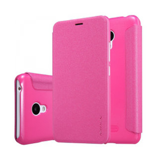 Чехол книжка NILLKIN Sparkle leather case для Meizu M3 Mini (Pink)