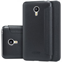 Чехол книжка NILLKIN Sparkle leather case для Meizu M2 Note (Black)
