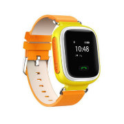 Детские часы с GPS Smart Baby watch Q60 (Orange)