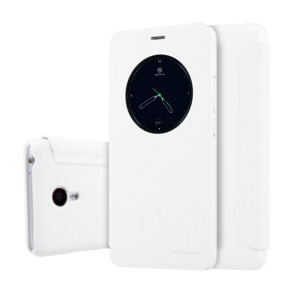 Чехол книжка NILLKIN Sparkle leather case для Meizu M3 Note (White)