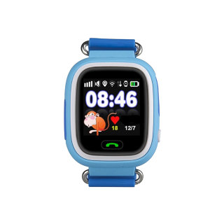 Детские часы Q80 Smart Baby Watch (Blue)