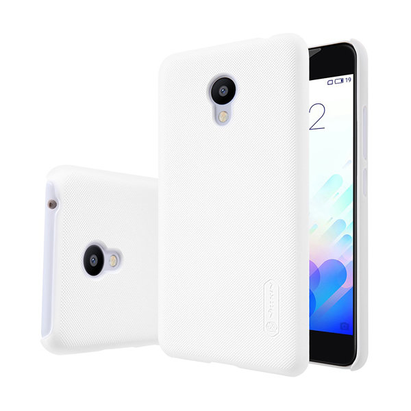 Чехол бампер NILLKIN Super Frosted Shield для Meizu M3 Mini (White)